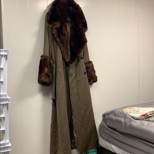Vintage Union Made Floor Length Winter Coat